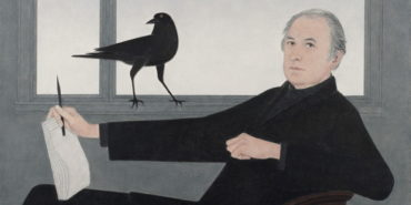 Will Barnet - Self-Portrait, 1981 (detail), image courtesy National Academy Museum
