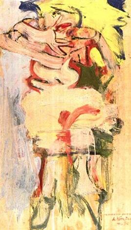 Willem de Kooning-A Woman-1965