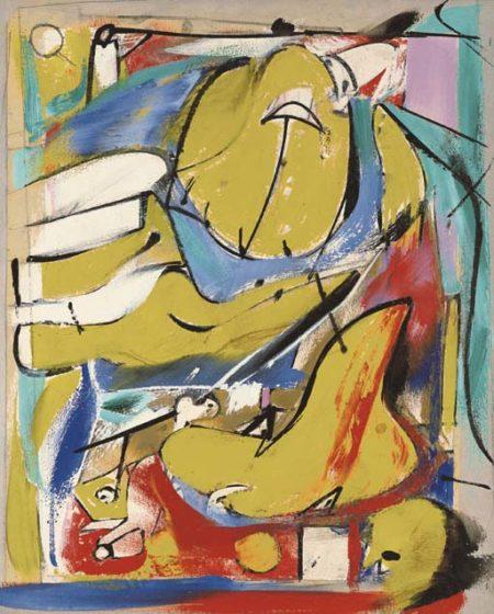 Willem de Kooning-Ashville No.1-1948