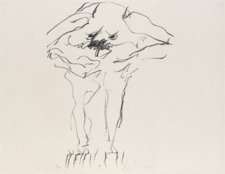 Willem de Kooning-Clam Digger (From Portfolio 9)-1966