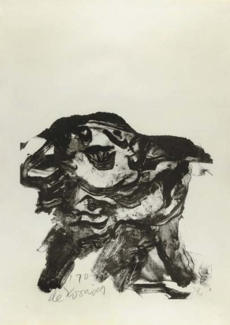 Willem de Kooning-Clam Digger (Graham 10)-1971