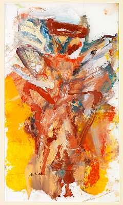 Willem de Kooning-Composition-1976