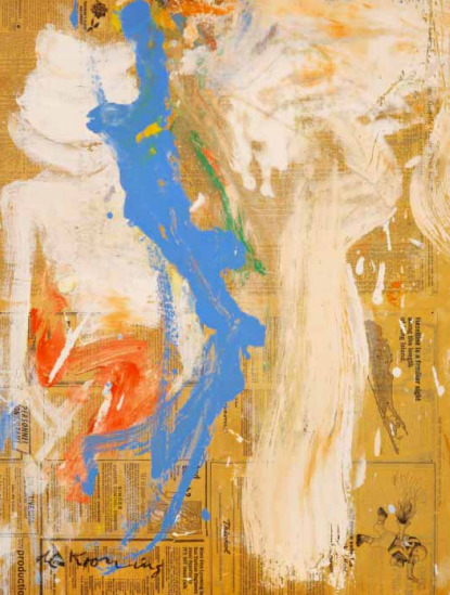 Willem de Kooning-Composition (9 Januar 1966 New York Times)-1966
