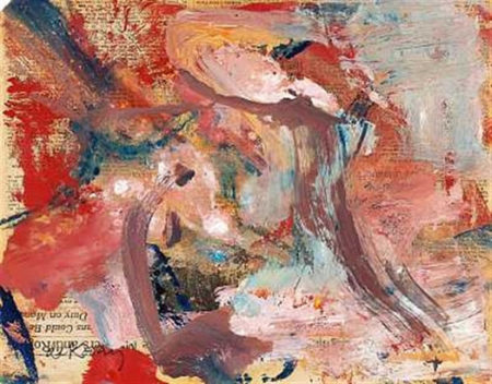 Willem de Kooning-Composition-