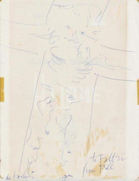 Willem de Kooning-Crocifissione-1958