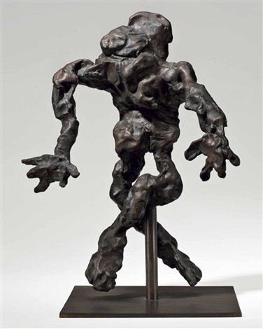 Willem de Kooning-Cross-Legged Figure-1972
