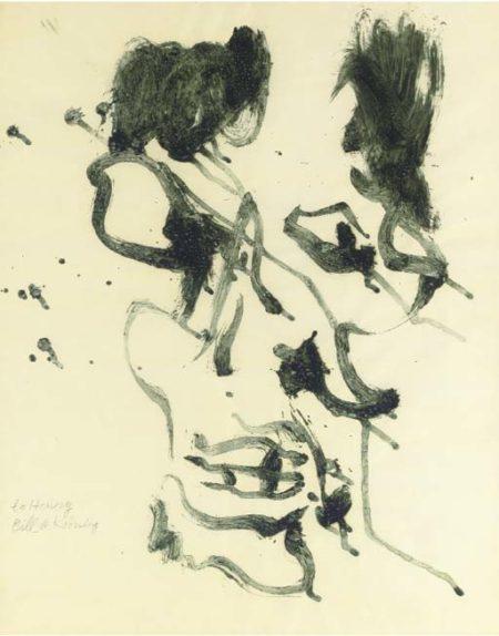 Willem de Kooning-Decomposition of Man-1970