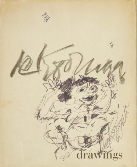 Willem de Kooning-Drawings (Reproduction)-1967