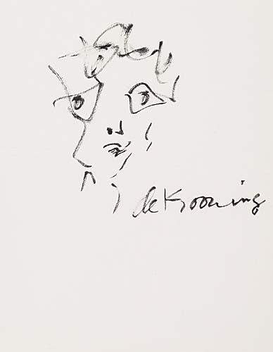 Willem de Kooning-Face-1965