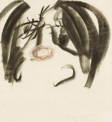 Willem de Kooning-Female Head (The Jazz Singer)-1965