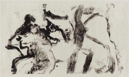Willem de Kooning-Few Tusche Strokes-1970