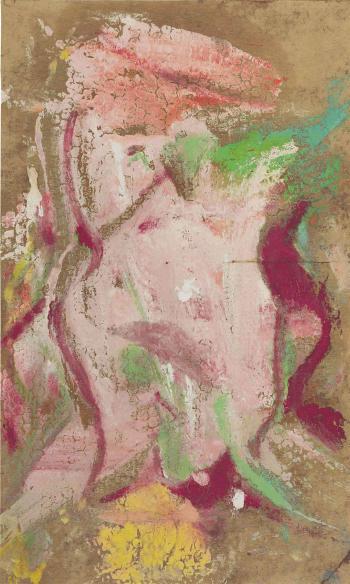 Willem de Kooning-Figure-1965