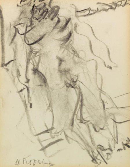 Willem de Kooning-Figure-