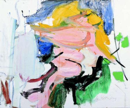 Willem de Kooning-Figure in Landscape-1966