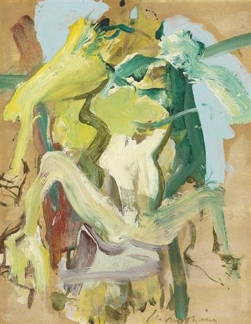 Willem de Kooning-Figure in Water-1967