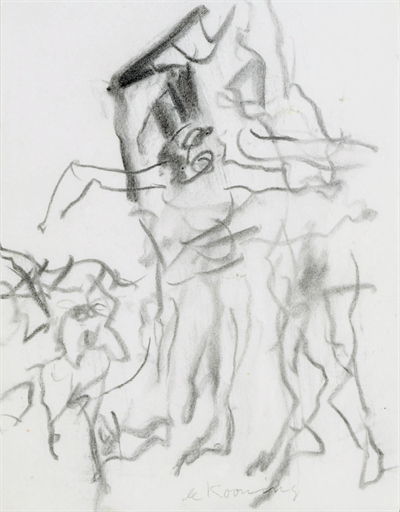 Willem de Kooning-Figures-1975