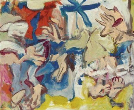 Willem de Kooning-Figures in Landscape No. 1-1976