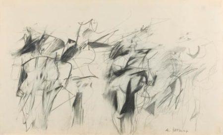 Willem de Kooning-Five Women-1952