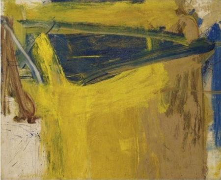 Willem de Kooning-Forest Of Zogbaum-1958