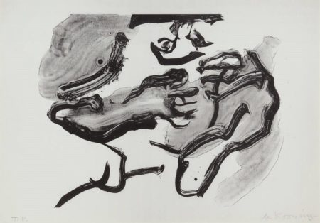 Willem de Kooning-Horse Head-1971