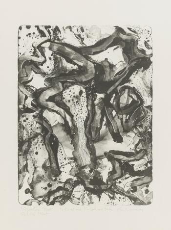 Willem de Kooning-Landscape at Stanton Street-1971