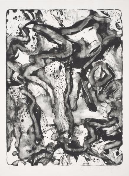 Willem de Kooning-Landscape at Standon Street-1971
