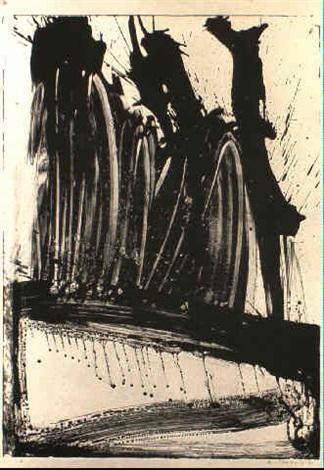 Willem de Kooning-Litho No.2 (Wave No.2)-1960
