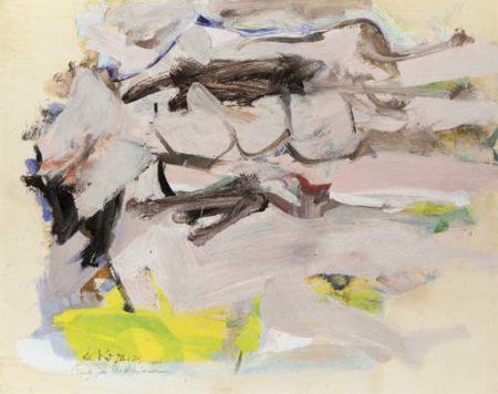 Willem de Kooning-L'orage-1963