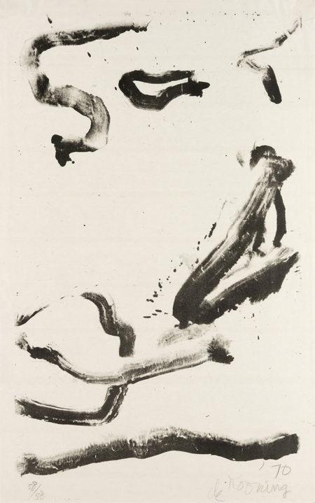 Willem de Kooning-Love to Wakako-1970