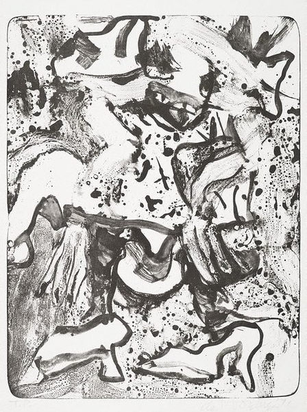 Willem de Kooning-Minnie Mouse-1971
