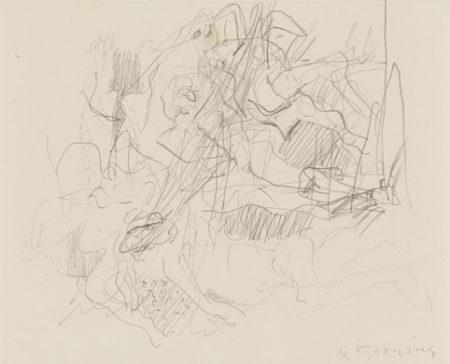 Willem de Kooning-Orgy-1985