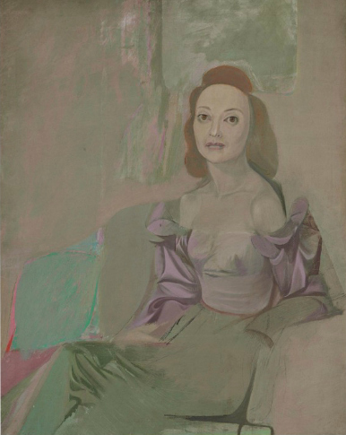 Willem de Kooning-Portrait of a Woman-1940