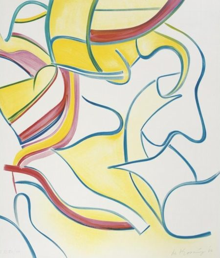 Quatre Lithographies: One Plate-1986