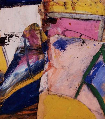 Willem de Kooning-Red Eye-1955