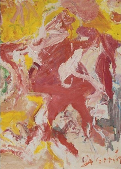 Willem de Kooning-Red Man-1970
