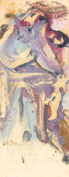 Willem de Kooning-Seated Woman-1963