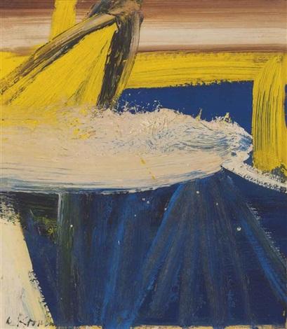 Willem de Kooning-Small Painting #2-1958