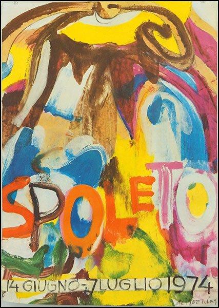 Willem de Kooning-Spoleto-1974