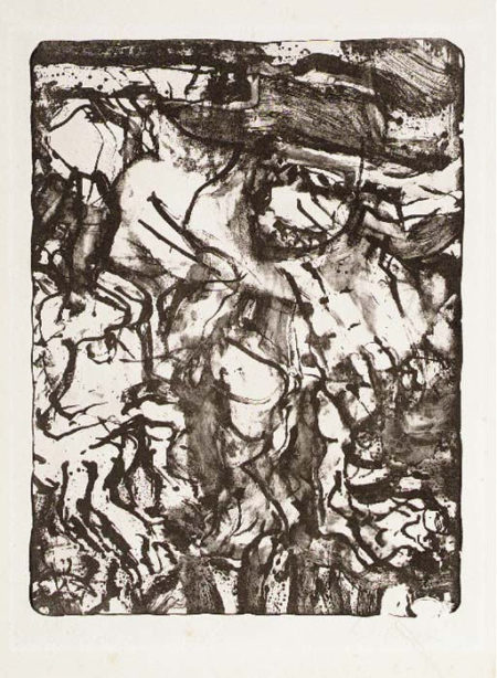 Willem de Kooning-The Preacher-1971