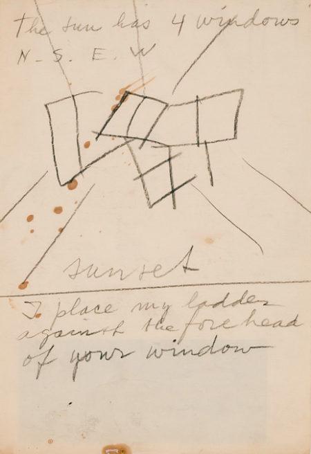 Willem de Kooning-The Sun Has 4 Windows-