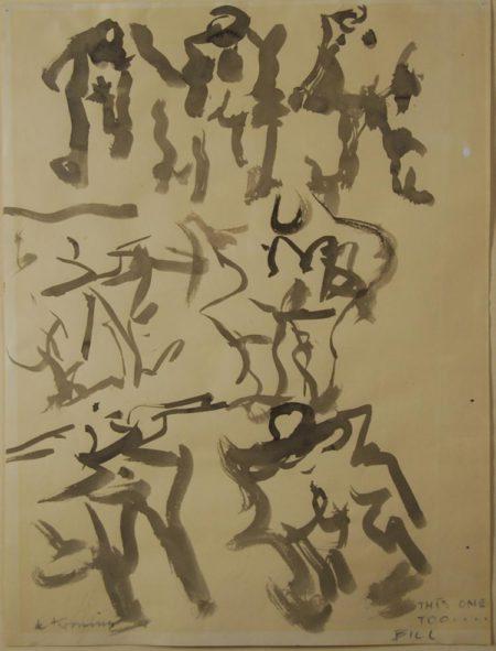 Willem de Kooning-This One Too... Bill-
