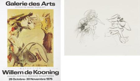 Willem de Kooning-Three Figures, Galerie des Arts Exhibition Poster-1975