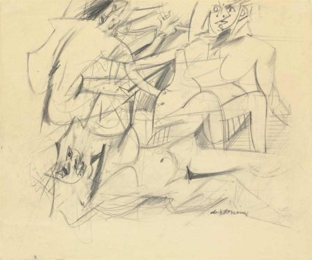 Willem de Kooning-Three Women-1952