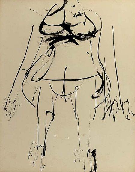 Willem de Kooning-Torso-1954