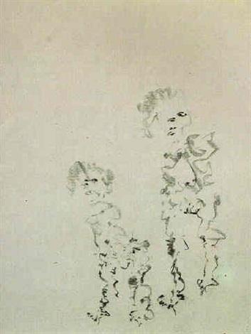 Willem de Kooning-Trembling Woman-1964