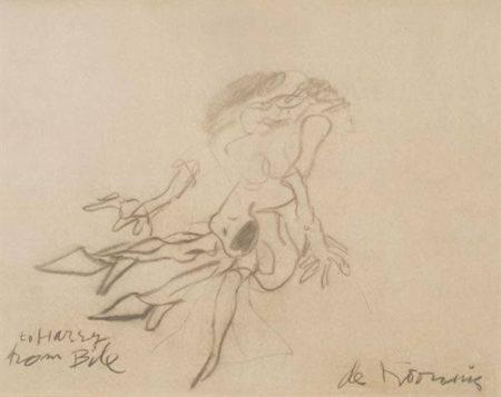 Willem de Kooning-Turtle Lady-1968