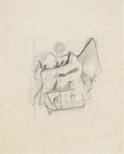 Willem de Kooning-Tutorial Sketcher Homer-1944