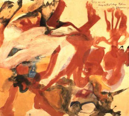 Willem de Kooning-Two People in the Dunes-1972