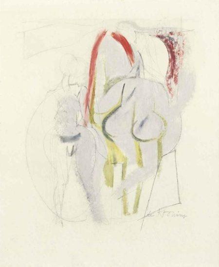 Willem de Kooning-Two Standing Women-1949