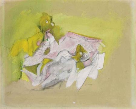 Willem de Kooning-Two Women-1943